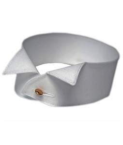 Frackhemd-Kragen, 4,5 cm Stoff