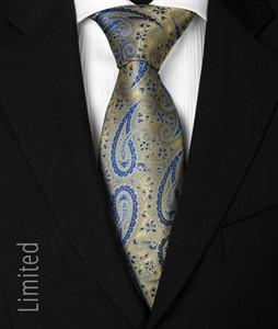 Krawatte Design 1016 grün/blau