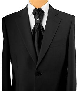 Krawatte Straßstein schwarz 1018