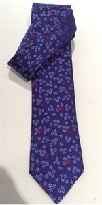 Krawatte Design 1024 Platinum lila