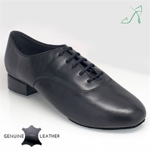 Windrush Black Leather (Absatzhöhe 1Inch=2.5cm)