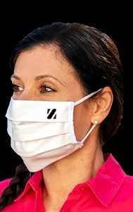 Mehrweg Mund-Nasen-Maske, waschbar, 10er Pack