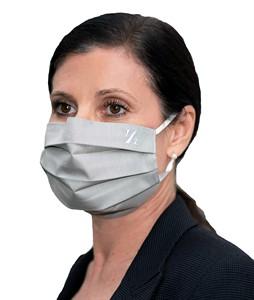 Mehrweg Mund-Nasen-Maske, grau, waschbar